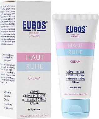 Pflegende Kindercreme mit Nachtkerzenöl, Vitamin-Komplex und Johanniskraut-Extrakt - Eubos Med Dry Skin Children Cream — Bild N1