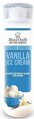 Körper, Gesicht und Haar Duschgel - Stani Chef's Hair And Body Shower Gel Vanilla Ice Cream — Bild N1