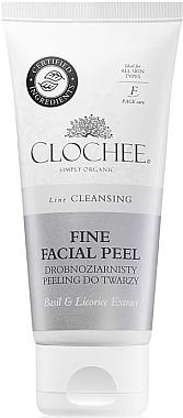 Feinkörniges Gesichtspeeling mit Basilikum und Süßholzwurzelextrakt - Clochee Cleansing Fine Facial Peel — Bild N1