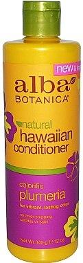 Regenerierende Haarspülung mit Frangipani-Extrakt - Alba Botanica Natural Hawaiian Conditioner Colorific Plumeria — Bild N1