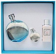 Düfte, Parfümerie und Kosmetik Hermes Eau des Merveilles Bleue - Duftset (Eau de Toilette 100ml + Körperlotion 40ml + Eau de Toilette 7.5ml)