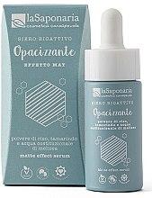 Düfte, Parfümerie und Kosmetik Mattierendes bioaktives Gesichtsserum - La Saponaria Matte Effect Serum