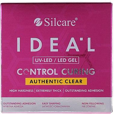 Transparentes Nagelgel - Silcare Ideal UV/LED Gel — Bild N1