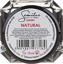 Düfte, Parfümerie und Kosmetik Nagelgel - Semilac UV Gel Expert Natural