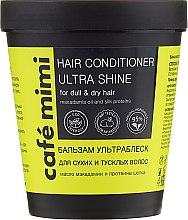 """Düfte, Parfümerie und Kosmetik Haarspülung """"Ultra Shine"""" für trockenes Haar - Cafe Mimi Conditioner"""