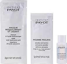 Gesichtspflegeset - Payot Liss Absolute (Gesichtspeeling 10x5g + Gesichtslotion 10x10ml + Gesichtsmaske 10x20g) — Bild N2