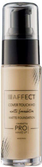 Mattierende Foundation - Affect Cosmetics Cover Touch Matte Foundation — Bild N1