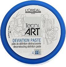 Düfte, Parfümerie und Kosmetik Destrukturierende Mattpaste Flexibler Halt - L'Oreal Professionnel Tecni.art Deviation Paste