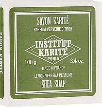 Düfte, Parfümerie und Kosmetik Shea Körperseife Lemon Verbena - Institut Karite Lemon Verbena Shea Soap