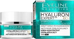 Düfte, Parfümerie und Kosmetik Intensiv regenerierendes und verjüngendes Tages- und Nachtcreme-Konzentrat 60+ - Eveline Cosmetics Hyaluron Expert 60+