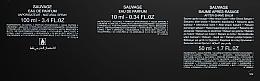 Dior Sauvage Eau de Parfum - Duftset (Eau de Parfum 100ml + Eau de Parfum 10ml + After Shave Balsam 50ml) — Bild N4