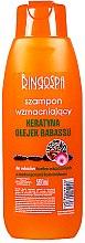 Düfte, Parfümerie und Kosmetik Stärkendes Shampoo mit Keratin und Babassuöl - BingoSpa Shampoos Strengthening Of The Keratin And Babassu Oil