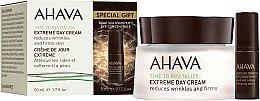 Düfte, Parfümerie und Kosmetik Gesichtspflegeset - Ahava Extreme Time to Revitalize (Gesichtscreme 50ml + Augenserum 5ml)