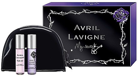 Avril Lavigne My Secret Gift Set - Duftset (Eau de Parfum 10ml + Eau de Parfum 10ml + bag) — Bild N1