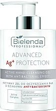 Düfte, Parfümerie und Kosmetik Aktives antibakterielles Handreinigungsgel - Bielenda Professional Advanced Ag+ Protection