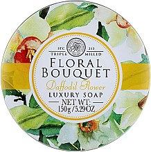 Düfte, Parfümerie und Kosmetik Luxusseife für Hände und Körper - The Somerset Toiletry Company Floral Bouquet Daffodil Flower Luxury Soap