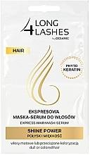 Düfte, Parfümerie und Kosmetik Haarmaske-Serum für mehr Glanz - Long4Lashes Hair Shine Power