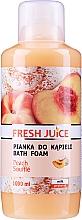 Düfte, Parfümerie und Kosmetik Schaumbad mit Pfirsich-Souffle - Fresh Juice Pach Souffle