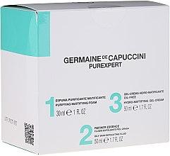 Düfte, Parfümerie und Kosmetik Gesichtspflegeset - Germaine de Capuccini Purexpert Special Set 1-2-3 Oily (Gesichtsschaum 30ml + Gesichtsfluid 50ml + Gesichtsgel 50ml)