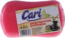Düfte, Parfümerie und Kosmetik Badeschwamm rosa - Cari