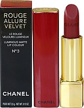 Lippenstift - Chanel Rouge Allure Velvet Luminous Matte Lip Color — Bild N1