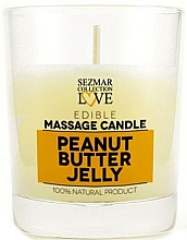 Düfte, Parfümerie und Kosmetik Massagekerze Peanut Butter Jelly - Sezmar Collection Peanut Butter Jelly