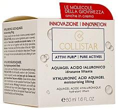 Düfte, Parfümerie und Kosmetik Aqua-Gel für das Gesicht mit Lifting-Effekt und Hyaluronsäure - Collistar Pure Actives Moisturizing Acid Aquagel