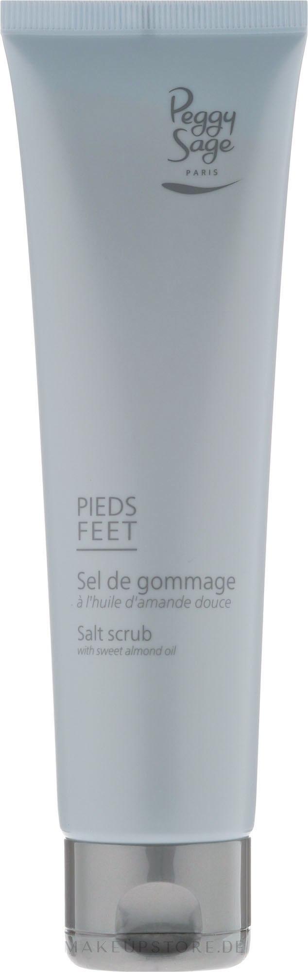 Salzpeeling für Füße mit Mandelöl - Peggy Sage Salt Scrub — Bild 100 ml