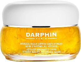 Düfte, Parfümerie und Kosmetik Detox-Maske für das Gesicht mit ätherischem Vetiveröl - Darphin Vetiver Aromatic Care Stress Relief Detox Oil Mask