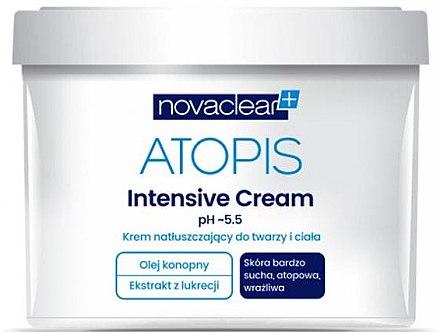 Feuchtigkeitsspendende Gesichts- und Körpercreme - Novaclear Atopis Intensive Cream — Bild N2