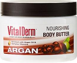Düfte, Parfümerie und Kosmetik Nährende Körperbutter mit Arganöl - VitalDerm Argana