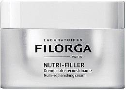 Düfte, Parfümerie und Kosmetik Pflegende uns straffende Gesichtscreme mit Fill-in Effekt - Filorga Nutri-Filler Replenishing Cream
