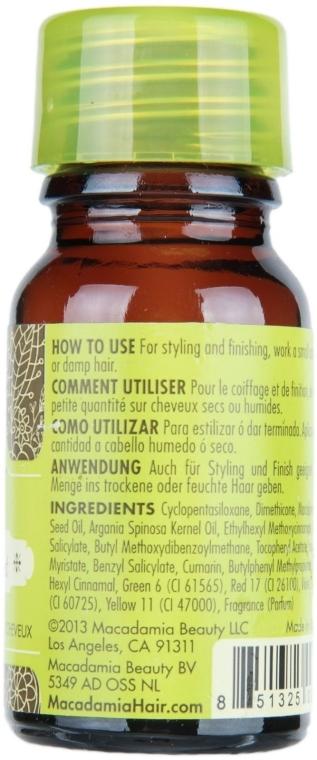 Heilölbehandlung für alle Haartypen mit Argan und Macadamia - Macadamia Natural Oil Healing Oil Treatment (mini) — Bild N2