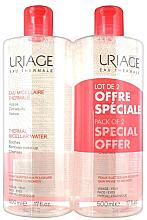 Düfte, Parfümerie und Kosmetik Mizellenwasser für empfindliche Haut - Uriage Thermal Micellar Water Dry Skin Duo