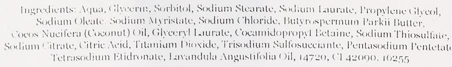 Handgemachte Naturseife mit Glycerin und Lavendel aus der Provence - E-Fiore Natural Soap Lavender From Provence — Bild N3