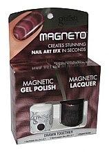 Düfte, Parfümerie und Kosmetik Nagellackset - Gelish Drawn Together Magneto Combo Kit (nail/15ml + nail/10ml)