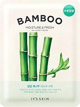 Düfte, Parfümerie und Kosmetik Feuchtigkeitsspendende und erfrischende Tuchmaske mit Bambus - It's Skin The Fresh Mask Sheet Bamboo