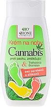 Düfte, Parfümerie und Kosmetik Fußcreme mit Hanföl - Bione Cosmetics Cannabis Foot Cream With Triethyl Citrate And Bromelain