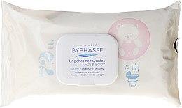Düfte, Parfümerie und Kosmetik Sanfte und beruhigende Baby Feuchttücher - Byphasse Lingettes Nettoyantes Visage & Corps Baby