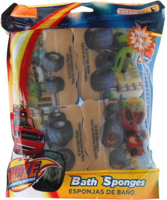 Badeschwamm-Set für Kinder Blaze And The Monster Machines - Suavipiel Bath Sponges Blaze And The Monster Machines — Bild N1