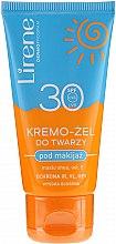 Düfte, Parfümerie und Kosmetik Sonnenschutzcreme-Gel für das Gesicht SPF 30 - Lirene Sun