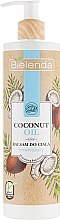 Düfte, Parfümerie und Kosmetik Feuchtigkeitsspendende Körperlotion mit Kokosnussöl - Bielenda Coconut Oil Moisturizing Body Lotion