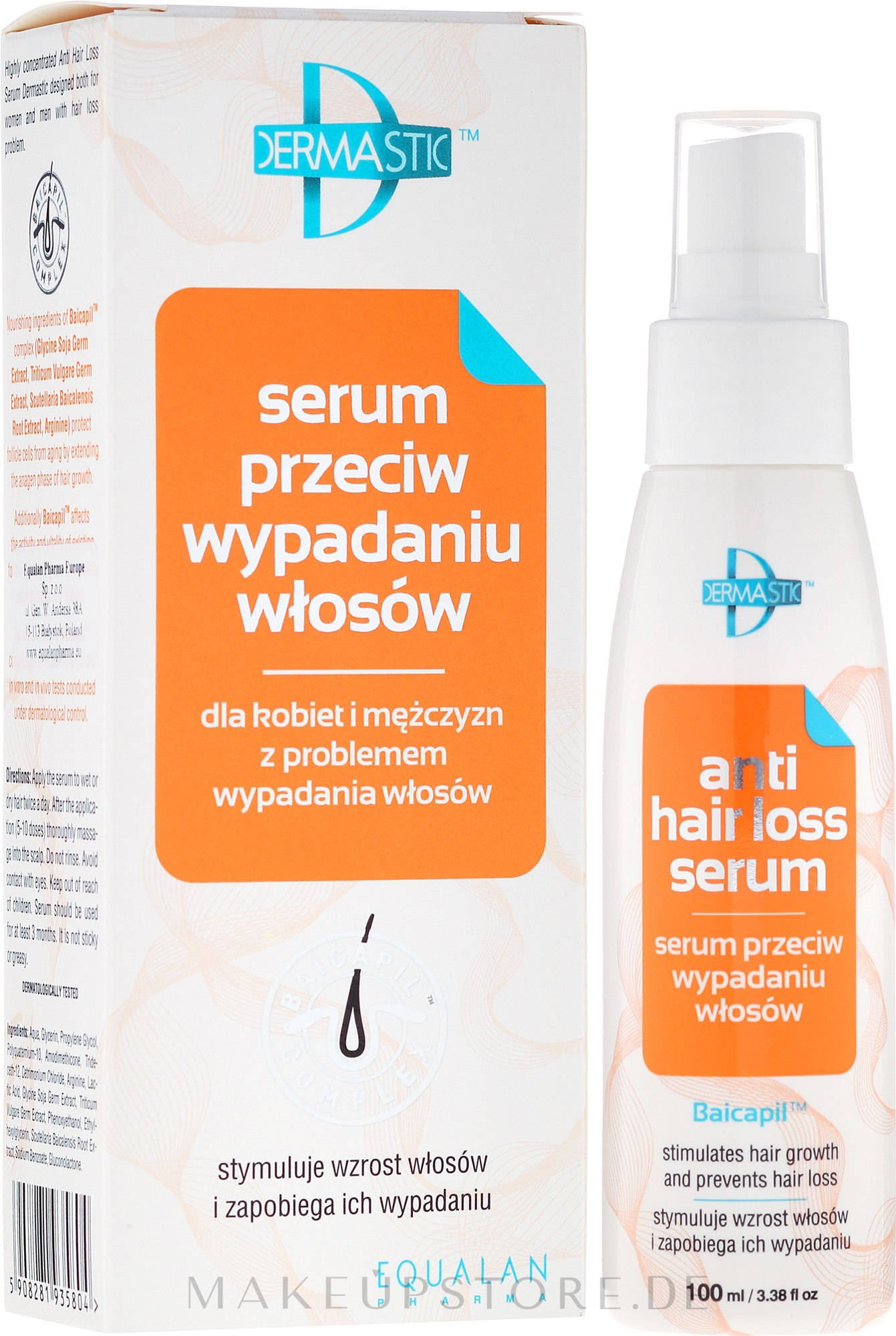 Haarserum - Dermastic Anti Hair Serum — Bild 100 ml