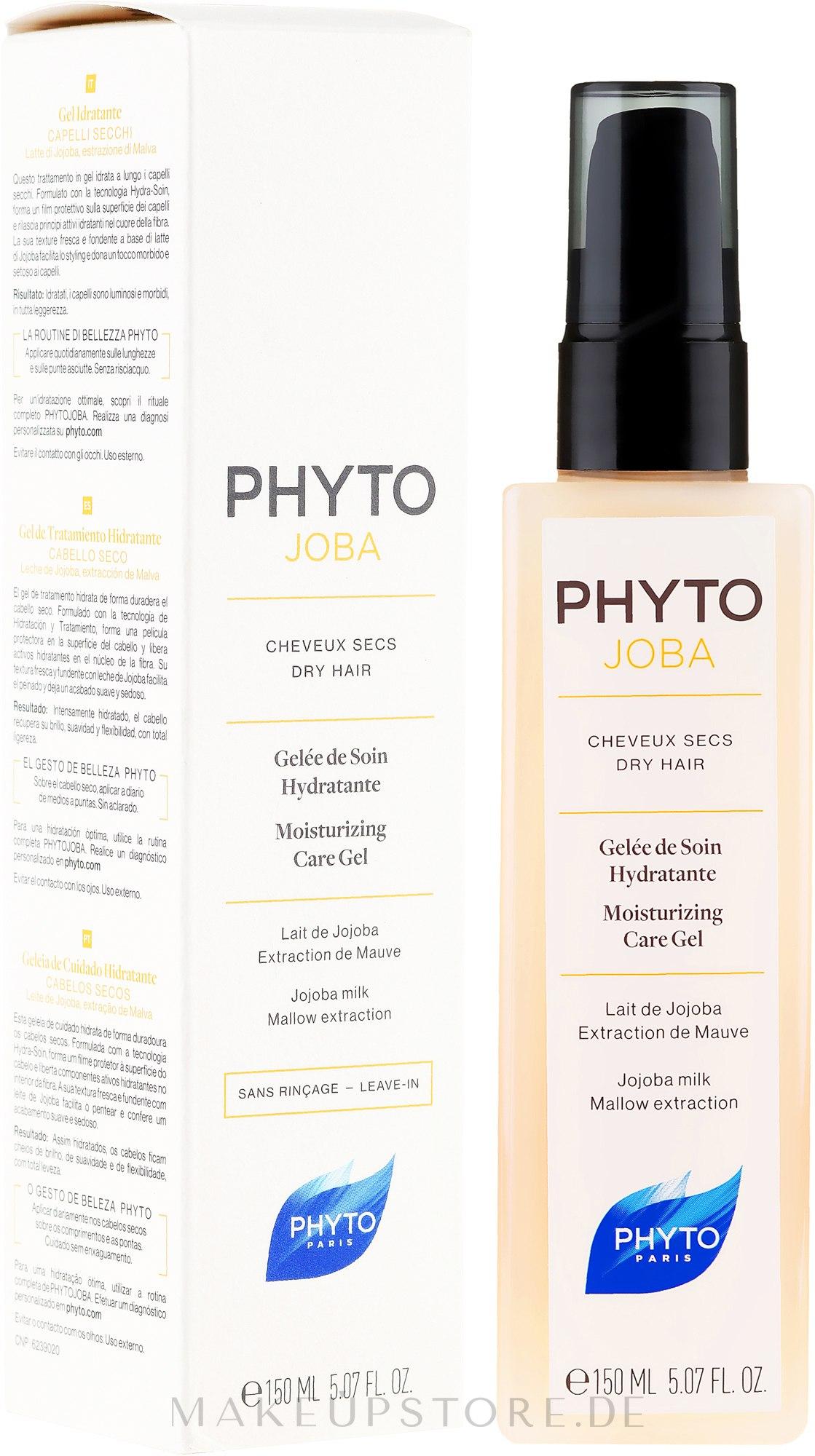 Feuchtigkeitsspendendes Haargel mit Malvenextrakt und Jojoba-Milch - Phyto Phyto Joba Moisturizing Care Gel — Bild 150 ml