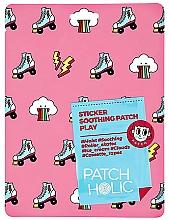 Düfte, Parfümerie und Kosmetik Beruhigende Gesichtspatches mit Aloe Vera-Extrakt - Patch Holic Sticker Soothing Patch Play