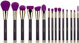 Düfte, Parfümerie und Kosmetik Make-up Pinselset T114 15 St. - Jessup