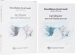 Feuchtigkeitsspendende Tuchmaske für das Gesicht Norwegen - Calluna Medica Norway Deeply Moisturizing Biocellulose Facial Mask — Bild N1