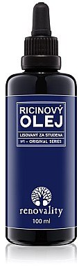 Regenerierendes Rizinusöl für Gesicht und Körper - Renovality Original Series Castor Oil Cold Pressed — Bild N1