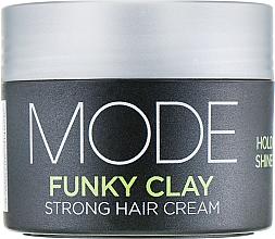 Düfte, Parfümerie und Kosmetik Volumengebende Haarcreme starker Halt - Affinage Mode Funky Clay
