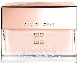 Düfte, Parfümerie und Kosmetik Reichhaltige verjüngende Gesichtscreme - Givenchy L`Intemporel Global Youth Divine Rich Cream